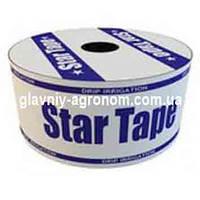 Капельный полив StarTape 8 mil 20 см, 0.75л/ч, бухта 500 м щелевая.