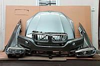 X5 BMW F15 Капот, бампер передний, крылья, фара правая, левая, радиатроная решетка, телевизор