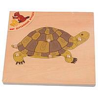 Пазл Мир деревянных игрушек Черепаха (Р 90)