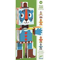 Развивающая игрушка Djeco Тотем-кубики Графика (DJ09111)