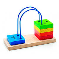 Развивающая игрушка Мир деревянных игрушек Счеты перекидные малые (Д372)