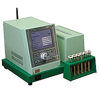 Аппарат Капля-20У автоматический для определения температуры каплепадения ГОСТ 6793-74, 29188.1-91