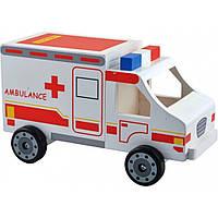 Машина Мир деревянных игрушек Скорая помощь (Д304)