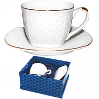 Набор чайный 2пр. 280мл Кардинал