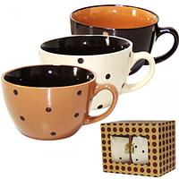 Набор чашек для бульона 2 шт. 470мл Карамель
