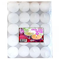 Набор свечей чайных 50шт белых / уп / 10 грамм