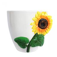 Горшок для цветов Подсолнечник 16 * 13 * 13 см (1,2л)