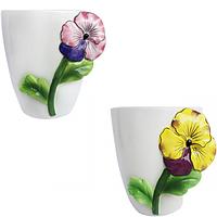 Горшок для цветов Фиалка 16 * 13 * 13 см (1,2л)