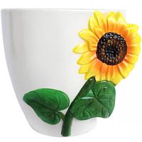Горшок для цветов Подсолнечник 15,5 * 13 * 16 см (1.5л)