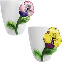Горшок для цветов Фиалка 15,5 * 13 * 16 см (1.5л)