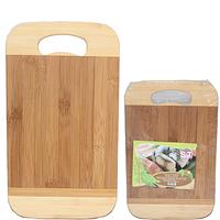 Доска разделочная бамбуковая 30х20х1,9 с отверстием