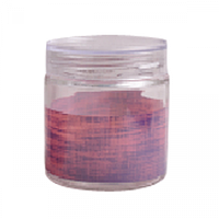 Ёмкость круг. с пластиковой крышкой Виолетт дрим 0,9 л