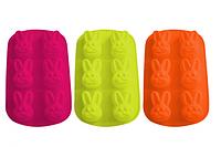 Форма для выпечки кексов 14х26см h-3см  Кролики
