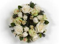 Венок из искусственных цветов роз Goodwill