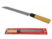 Нож с деревянной ручкой для хлеба Маруся 32см