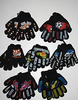 Перчатки для мальчиков Aura.Via 4/6-7/9 лет