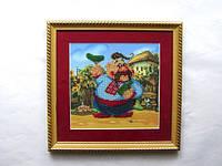 """Картина из бисера """"КАЗАЧОК"""", размер 265х265 мм."""