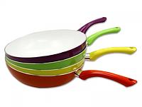Сковорода с керамическим покрытием WOK 28 см