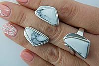 Женские украшения из серебра 925* с ларимаром