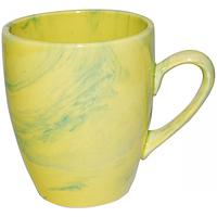 Чашка Европа радуга жёлто-зеленая 400мл