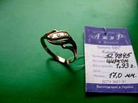 Новое золотое кольцо 17 размер 1.93 грамма Золото 585 пробы, фото 1