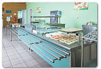 Линии раздачи для пунктов питания, столовых, артикул 10-21-0001