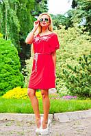 """Легкое летнее платье """"Микромасло,свободный крой"""""""