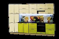 Кухня Фреш с пеналом и скиналью