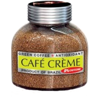 """Кофе """"Cafe Creme"""" Декафинированный 100г ст/б"""