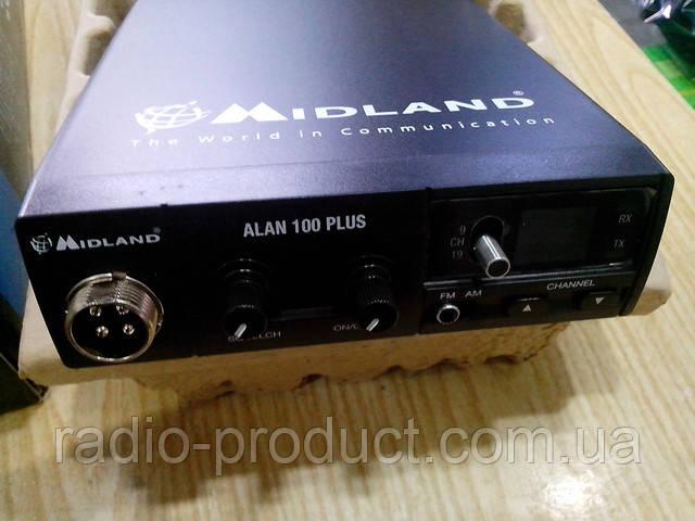Midland Alan 100 Plus, рация, радиостанция, оригинал