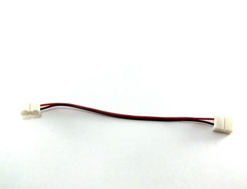 Коннектор для одноцветной светодиодной ленты №7 10мм провод-2зажима Код.57335