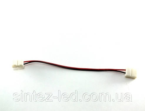 Коннектор для одноцветной светодиодной ленты №7 10мм провод-2зажима Код.57335, фото 2