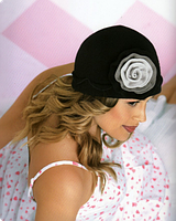 Шляпка шерстяная зимняя Tonak Olga