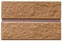 Кирпич Литос колотый пустотелый с фаской Красный 250*99*65