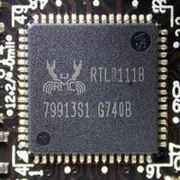 Микросхема Realtek RTL8111B сетевая карта для ноутбука