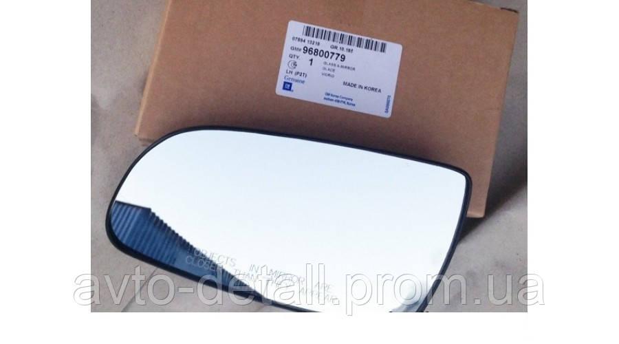 Скло дзеркала ліве (з підігрівом) Авео 3 (Т250)