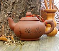 Чайник из исинской глины коричневый 300 мл