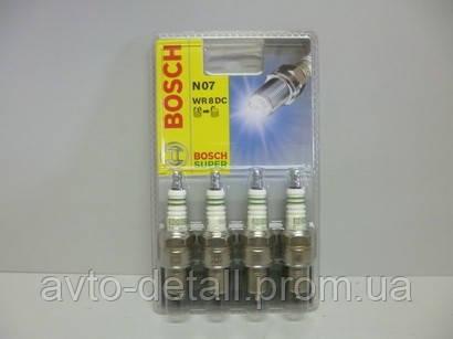 Свечи зажигания BOSCH  на 8 клапанные моторы (бензин)