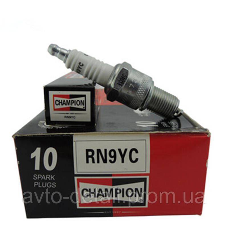 Свечи зажигания (резисторные) Champion 2108 на 8 клапанные моторы (бензин)