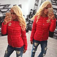 "Модная молодежная короткая куртка ""Chanel лаке "" 42-60р РАЗНЫЕ ЦВЕТА!"
