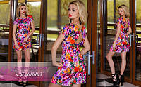 """Очень красивый, модный, яркий комбинезон-платье """"Summer"""" РАЗНЫЕ РАСЦВЕТКИ!"""