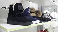 Натуральные Угги, замшевые Угги, полусапоги на овчине, зимняя Обувь