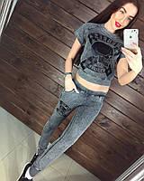 """Стильный, модный, спортивный костюм """"Philipp Plein короткая футболка с рисунком черепа"""""""