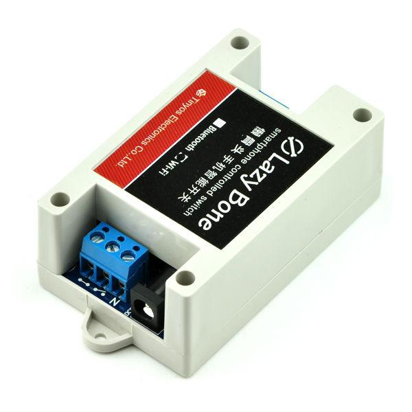 601098d35975 Контроллер ON OFF Bluetooth Реле relay для управления электрическими  приборами через смартфон Android IOS
