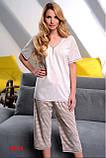 Пижама женская Dobra Nocka 3016 большие размеры (женская одежда для сна, дома и отдыха, домашняя одежда), фото 3
