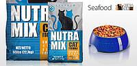 Nutra Mix Seafood 9.07 кг - Корм для кошек с морепродуктами