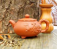 Чайник из исинской глины светло-коричневый 100 мл