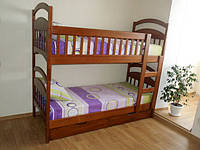 """Кровать деревянная """"Мишка 2"""""""