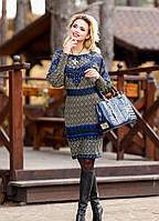"""Красивое нарядное женское платье """"Яркий рисунок,рукав-фонарик"""" РАЗНЫЕ ЦВЕТА"""