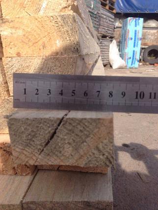 Брус сухой обрезной 80х40х3000, фото 2